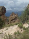 Roca del desierto del monumento nacional de Bandalier Imagen de archivo