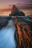 Roca del elefante en el Gold Coast Fotografía de archivo libre de regalías