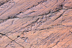 Roca del glaciar Imagen de archivo