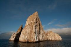 Roca del golpeador - las Islas Gal3apagos Foto de archivo