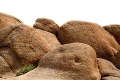 Roca del granito Imágenes de archivo libres de regalías
