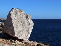 Roca del megalito Imagen de archivo libre de regalías