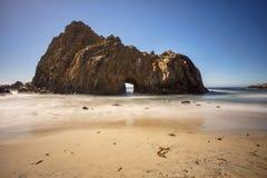 Roca del ojo de la cerradura Fotografía de archivo libre de regalías