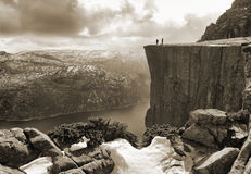 Roca del púlpito Foto de archivo