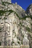 Roca del púlpito de Lysefjorden Fotos de archivo libres de regalías