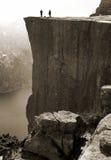 Roca del púlpito, Noruega Imagen de archivo