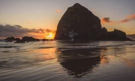 Roca del pajar Foto de archivo libre de regalías