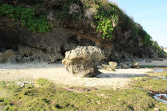 Roca del pedazo de centro Foto de archivo libre de regalías