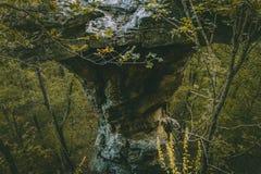 Roca del pedestal Fotografía de archivo libre de regalías