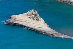 Roca del Peroulades Foto de archivo