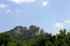 Roca del Seneca Foto de archivo