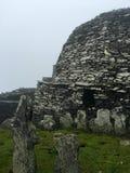 Roca del skellig de Skellig Michael, Irlanda Foto de archivo