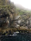 Roca del skellig de Skellig Michael, Irlanda Fotos de archivo libres de regalías