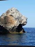 Roca del verano de Grecia Fotos de archivo