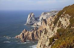 roca du DA Portugal de cabo Image libre de droits