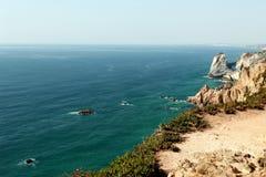 roca du DA Portugal de cabo Photographie stock libre de droits