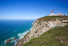 roca du DA Portugal de cabo Photographie stock