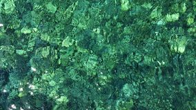Roca en agua Fotos de archivo libres de regalías