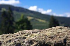 Roca en campo Fotografía de archivo libre de regalías