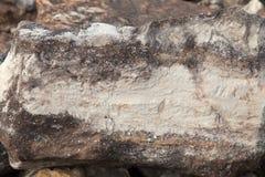 Roca en Clinton State Park en Kansas Imágenes de archivo libres de regalías