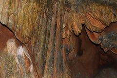 Roca en cueva Imagen de archivo libre de regalías