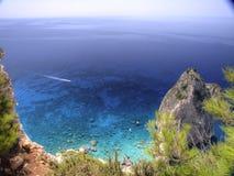 Roca en el mar 9 Fotos de archivo libres de regalías