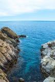 Roca en el mar Imagen de archivo
