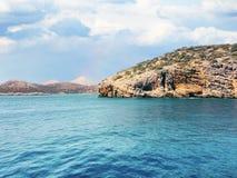 Roca en la isla de Creta Fotografía de archivo libre de regalías