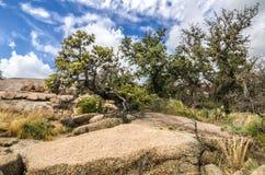 Roca encantada Tejas Fotografía de archivo