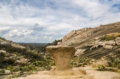 Roca encantada Tejas Imagen de archivo libre de regalías