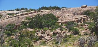 Roca encantada, Tejas fotografía de archivo libre de regalías
