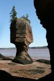 Roca enmarcada Imagenes de archivo