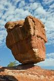 Roca equilibrada Foto de archivo libre de regalías