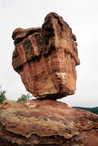 Roca equilibrada Foto de archivo