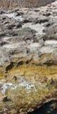 Roca erosionada de la piedra caliza Foto de archivo libre de regalías
