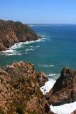 roca för caboda portugal Arkivbilder