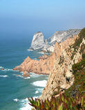 roca för caboda portugal Arkivfoto