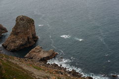 roca för caboda portugal Royaltyfria Foton