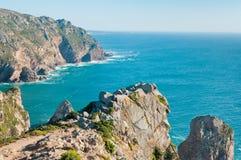 roca för caboda portugal Royaltyfria Bilder