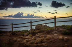 Roca Fence Royalty Free Stock Images