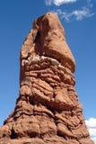 Roca formada pene, Utah, los E.E.U.U. Foto de archivo libre de regalías
