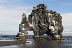 Roca gigante Imágenes de archivo libres de regalías