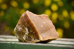 Roca grande de la ágata de Tejas Imagen de archivo