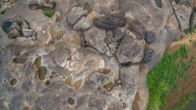 roca hermosa no vista de 3000 bok del Mekong Imágenes de archivo libres de regalías