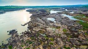roca hermosa no vista de 3000 bok del Mekong Foto de archivo libre de regalías