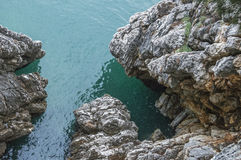 Roca (mar adriático) Foto de archivo libre de regalías