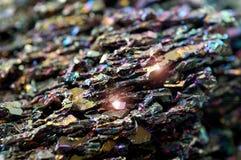 Roca mineral Fotos de archivo libres de regalías