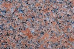 Roca natural del granito rosado Foto de archivo