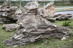 Roca natural hermosa Imagen de archivo