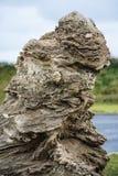 Roca natural hermosa Fotografía de archivo